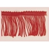 """Fringe Rayon 12"""" Red Stretchy"""